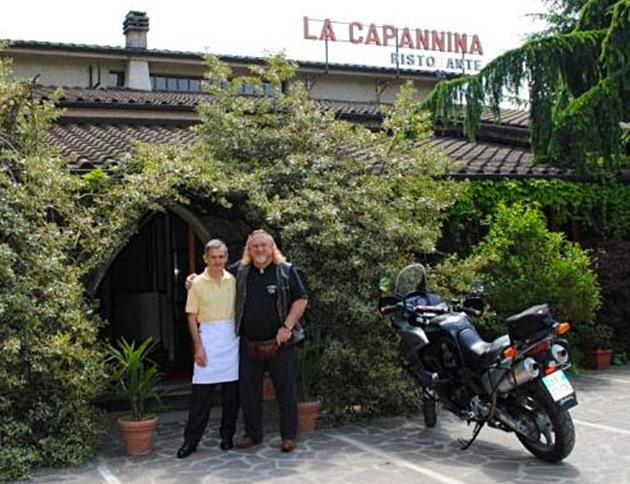 Foto di Ermanno Casini e Enrico Grassi - Ristorante La Capannina Viano