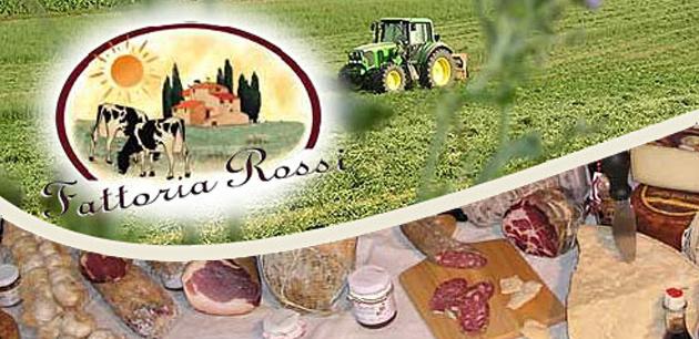 Caseificio Fattoria Rossi - esposizione dei prodotti artigianali
