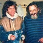 io e augusto collecchio (taro taro) 1987